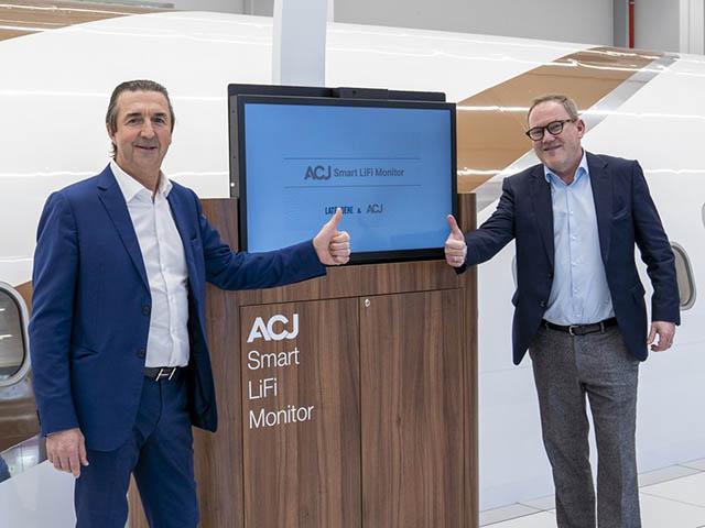Airbus ACJ : commande pour le 319neo, LiFi et TwoTwenty (vidéo) 1 Air Journal