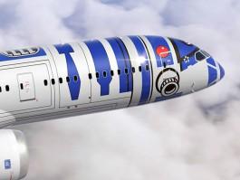 air-journal_ANA All Nippon Airways Star Wars R2D2close