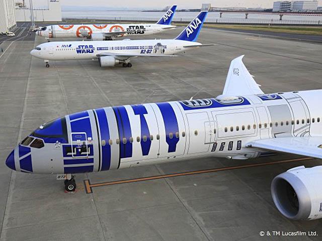 air-journal_ANA Star Wars 3planes All Nippon Airways