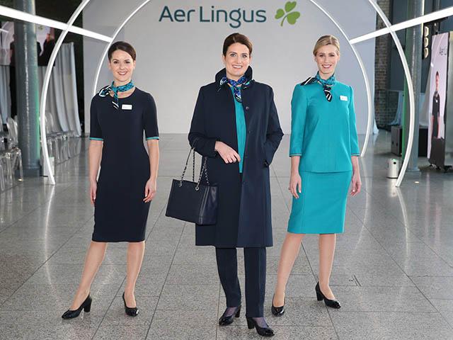 Nouveaux Uniformes Pour Aer Lingus Photos Videos Air Journal
