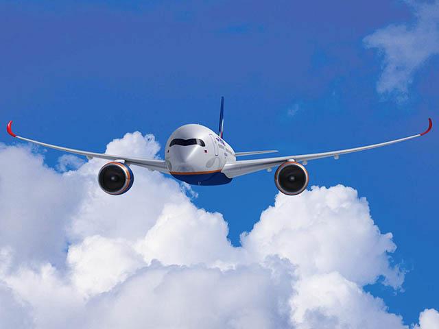 Le premier décollage automatique de l'Airbus A 350 en vidéo
