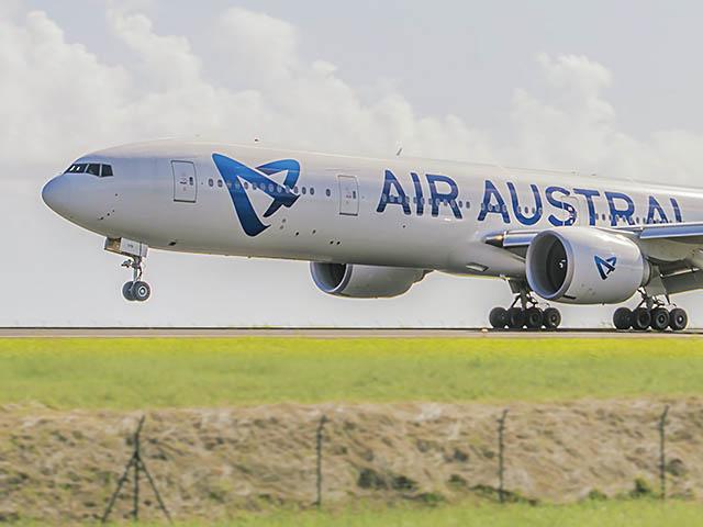 Air austral tient son deuxi me boeing 777 300er neuf air for Interieur 777 300