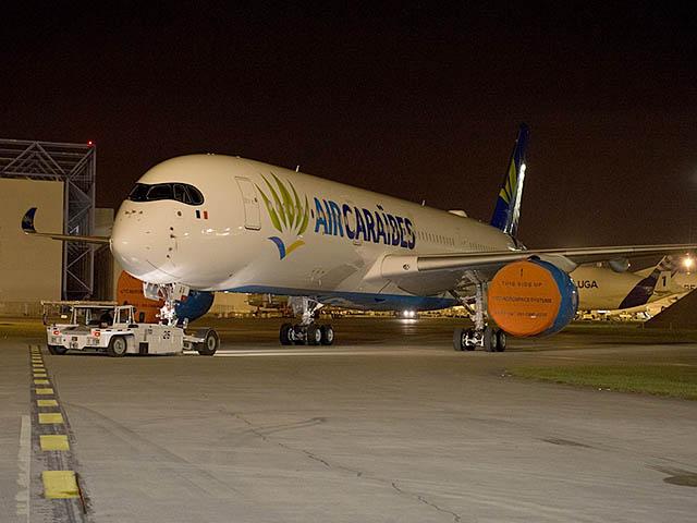 Air cara bes airbus a350 et promotion timbr e photos air journal - Vol paris port au prince air caraibes ...