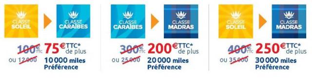 air-journal_Air Caraibes promo surclassement