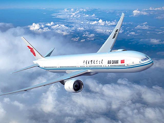 air china le 777 300er vers paris d but mars air journal. Black Bedroom Furniture Sets. Home Design Ideas