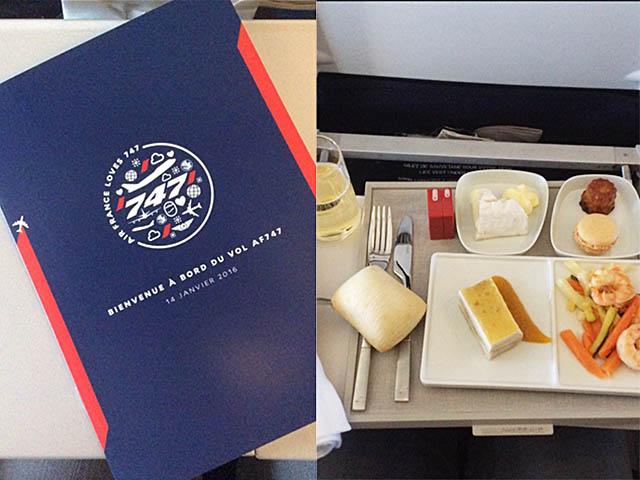 air-journal_Air France 747 Adieu vol menu