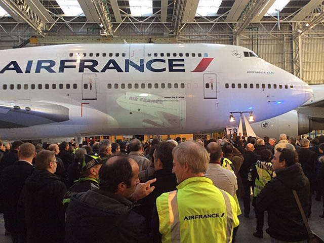Clap de fin pour le 747 d air france photos air journal for Interieur 747 air france