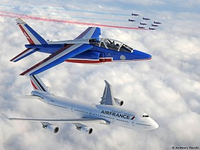 air-journal_Air France 747 Patrouille de France