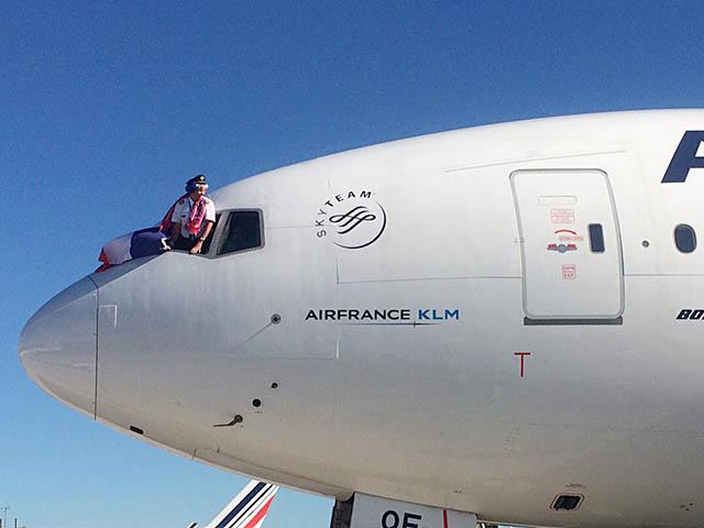 air-journal_Air France CDG pilote Olympique
