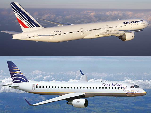 Air france et copa airlines partagent plus air journal - Vol paris port au prince air caraibes ...