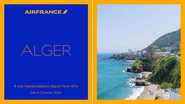 Air France Ouvre Une Ligne Orly Alger Air Journal
