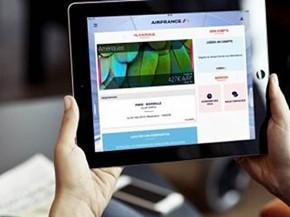 air-journal_Air France appli tablette
