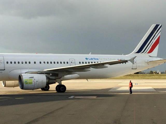 air-journal_Air France biocarburant Lab Line
