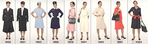 Air France Retrace L Histoire Des Hotesses De L Air Video Air