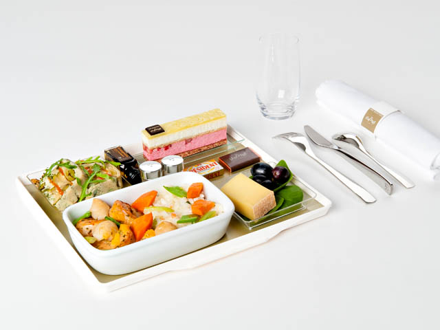 air france nouveaux menus la carte air journal. Black Bedroom Furniture Sets. Home Design Ideas