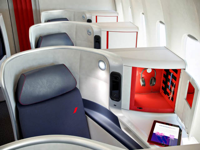 Air france les nouvelles cabines los angeles et for Boeing 777 air france interieur