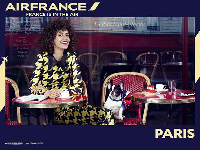air-journal_Air France pub Paris