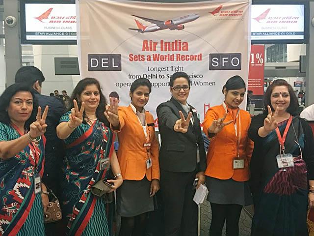 air-journal_Air India femmes pilotes record2