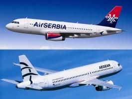 air-journal_Air Serbia Aegean Airlines