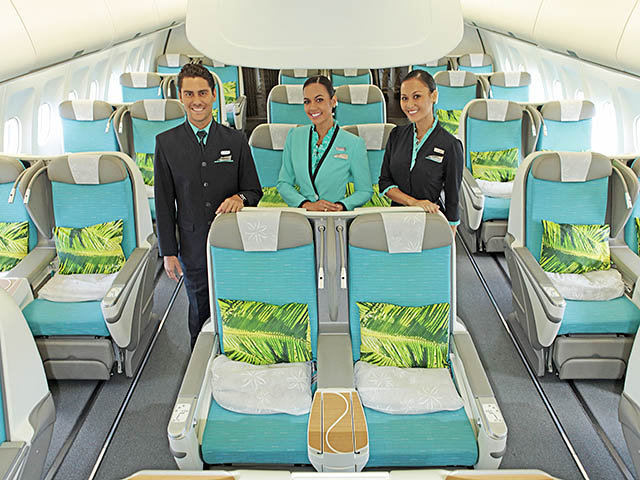 Air journal air tahiti nui classe affaires air journal for Compagnie aerienne americaine vol interieur