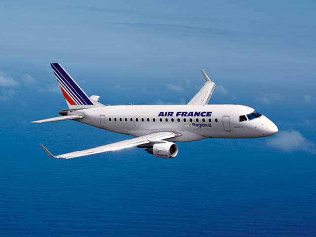 Air france 136 destinations pour hop air journal for Interieur avion air france