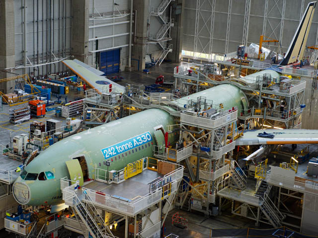 air-journal_Airbus A330_242T_Delta Air Lines usine