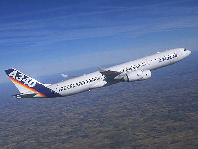 air-journal_Airbus A340-500