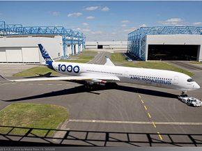 air-journal_Airbus A350-1000 livrée peinture