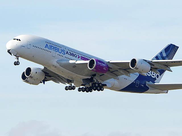 air-journal_Airbus A350-1000_Trent 1st flight