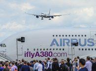 air-journal_Airbus A350 A380 Farnborough