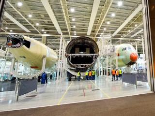 air-journal_Airbus A350 MSN3 usine