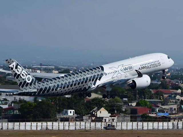 air-journal_Airbus A350 Manille