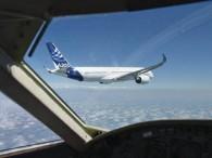 air-journal_Airbus A350 en vol