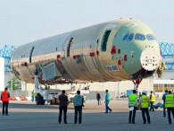 air-journal_Airbus A350 fuselage usine