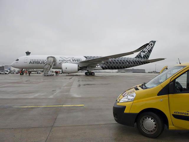 air-journal_Airbus A350XWB Paris