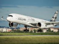 A350 XWB ROUTE PROVING TRIP 4 - LANDING