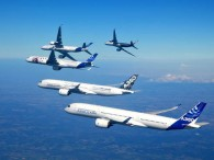 air-journal_Airbus A350_formation_flight_7