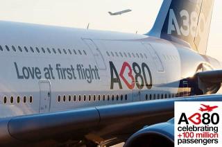 air-journal_Airbus A380 100 millions love