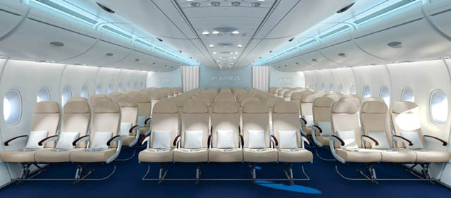Airbus a380 onze de front en economie c est pour 2017 for A380 air france interieur