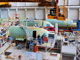 air-journal_Airbus Toulouse usine A320