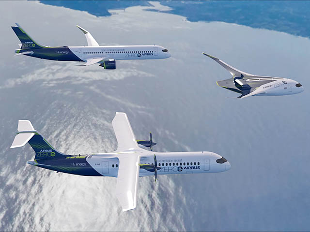 Airbus : la propulsion électrique hybride comme alternative à l'hydrogène ? - Air-Journal