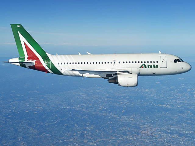 air-journal_Alitalia A319 new vol