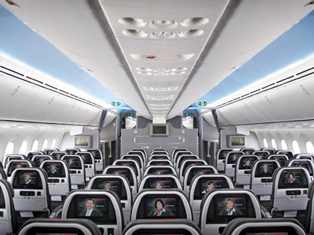 air-journal_American Airlines 787-8 Economie