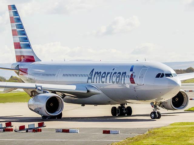 american airlines f te les 25 ans du philadelphie paris air journal. Black Bedroom Furniture Sets. Home Design Ideas