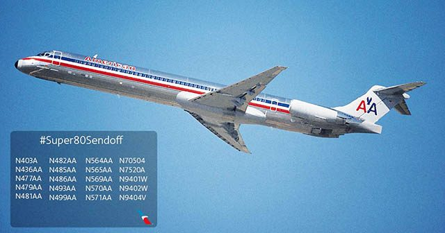air-journal_American Airlines MD80 sendoff