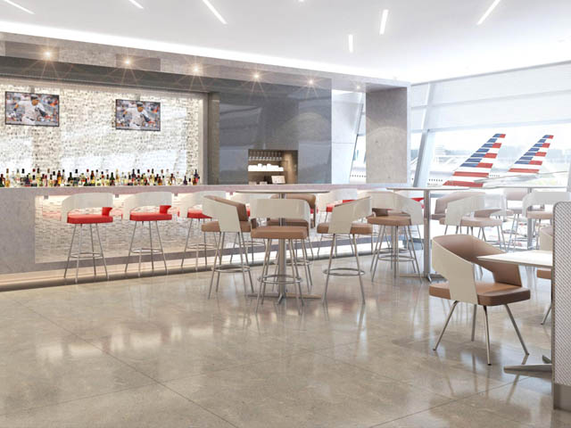 air-journal_American Airlines salon aeroport new look
