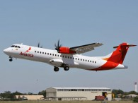 ATR 72-600 Avianca MSN 1092 taking off at Francazal airport
