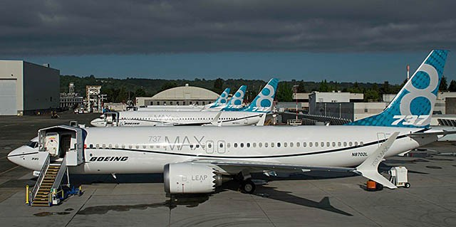 """Boeing 737 MAX: algunos aviones encallaron debido a un """"posible problema eléctrico"""" 1 diario de aire"""