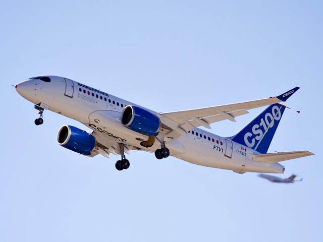 air-journal_Bombardier CS100 vol inaugural 1