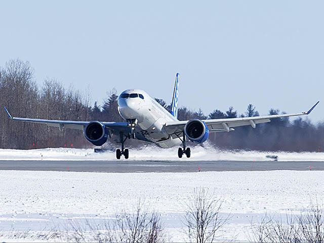 air-journal_Bombardier CS300 1er vol_1